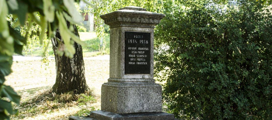 Památník padlým v 1. světové válce