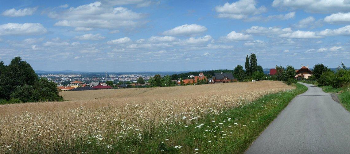 Výhled nad obcí