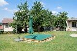 Školní zahrada-pískoviště